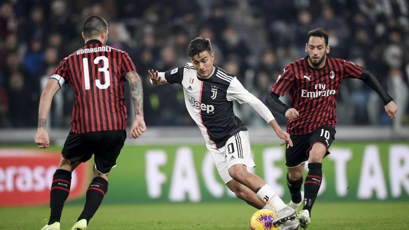 Juventus - Milan | The 2019 victory at the Allianz Stadium