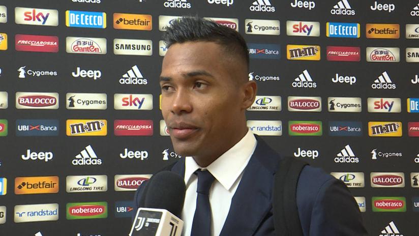 Juventus - Napoli | Alex Sandro: «Una vittoria importantissima»