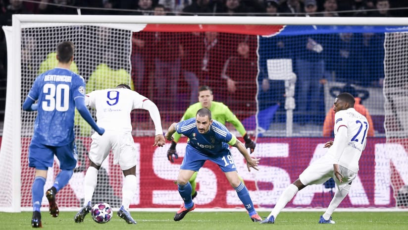 UCL | Ottavi di finale andata | Lione - Juventus