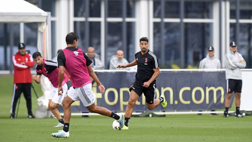 Training | Khedira Cam