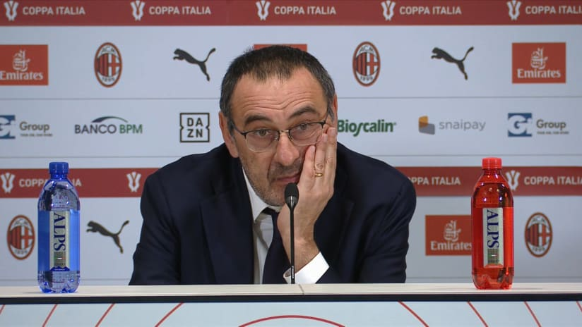 Conferenze stampa | Post Milan - Juventus