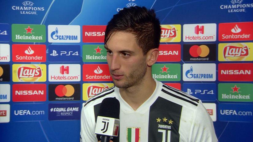 Juventus - Valencia | Bentancur: «Tutta la squadra ha giocato bene»
