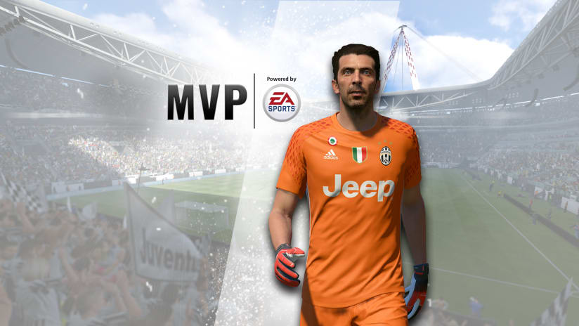 "Gianluigi Buffon, October ""MVP of the Month"""