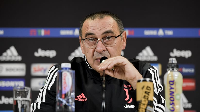 Press conference | The eve of Hellas Verona - Juventus