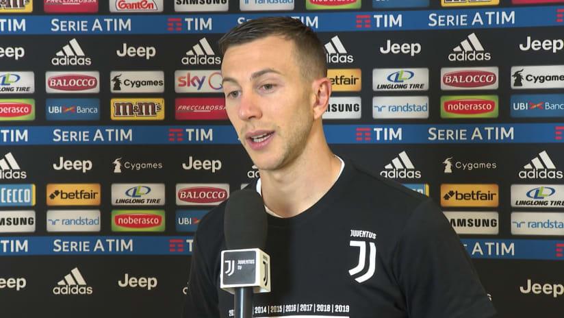 Juventus - Fiorentina | Bernardeschi: «Vincere lo scudetto non è mai banale»