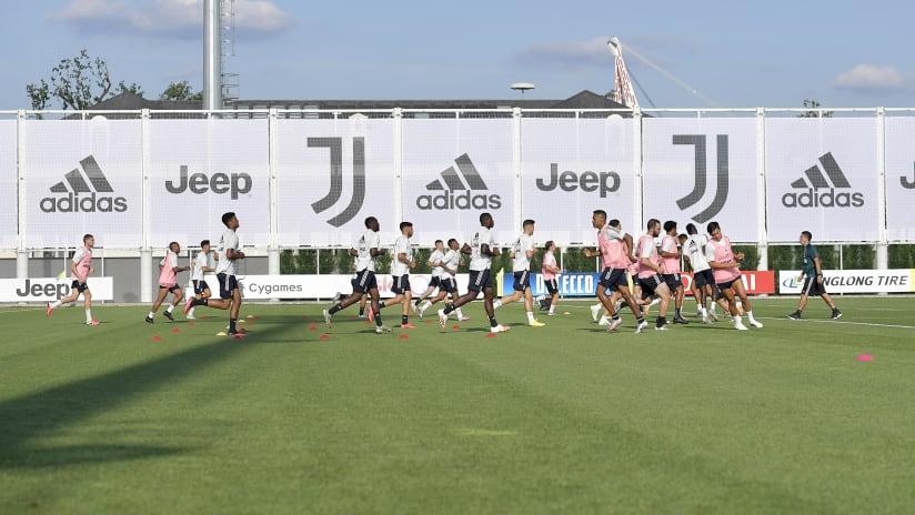 Training | Verso Juventus - Lazio