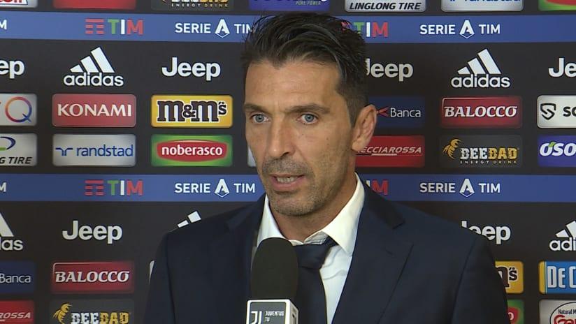 Juventus - SPAL | Buffon: «Arrivare a 42 anni così è sorprendente»