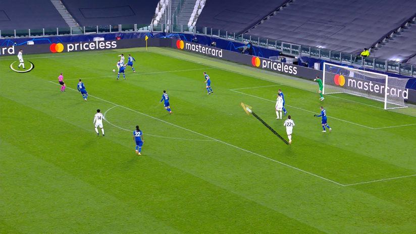 Juventus - Dinamo Kiev | Il gol di Federico Chiesa