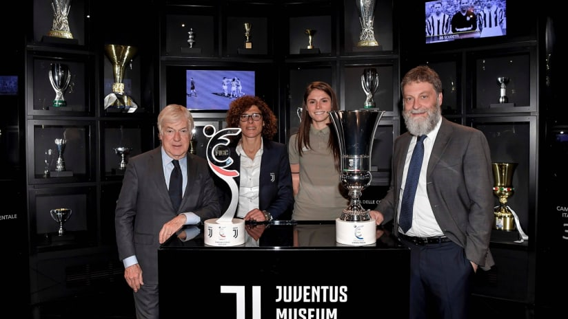 #Here2Stay | The trophies at Juventus Museum