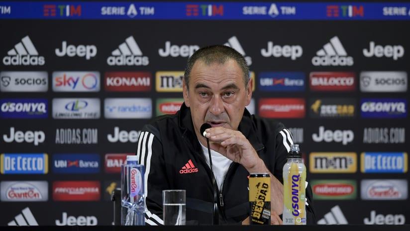 Sarri's comments on the eve of Juventus - Lazio