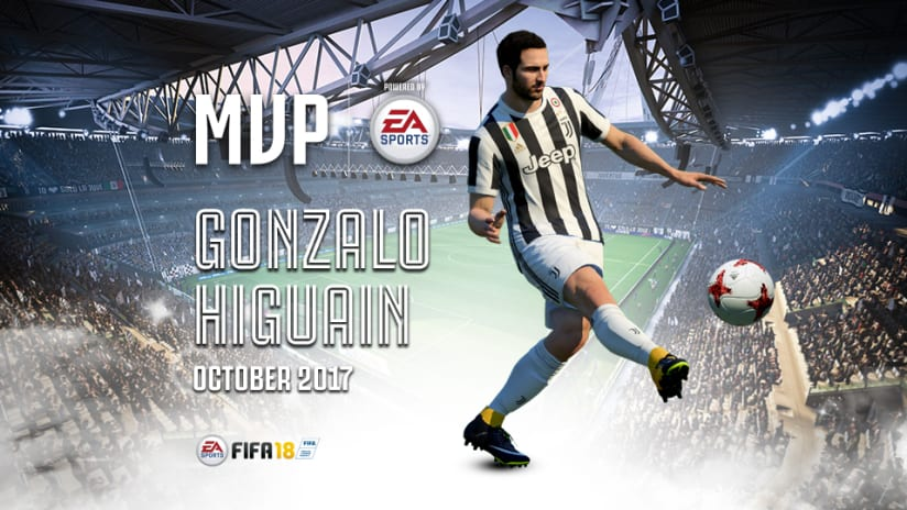"Gonzalo Higuaín, October ""MVP of the Month"""