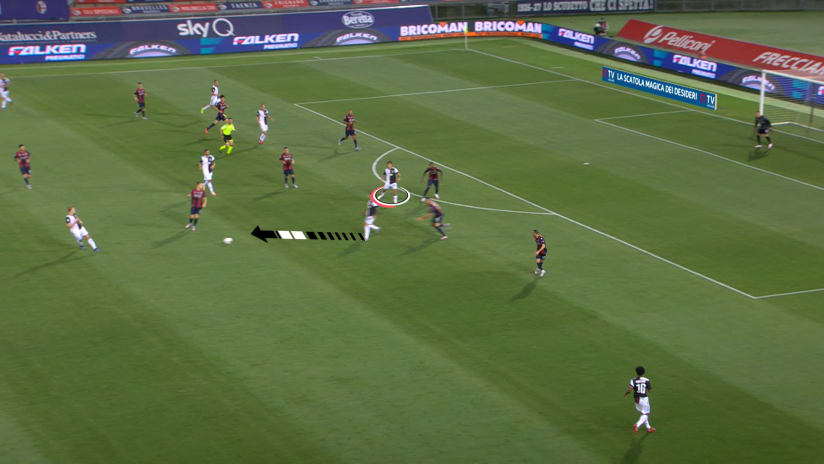 #BolognaJuve | Il gol di Dybala