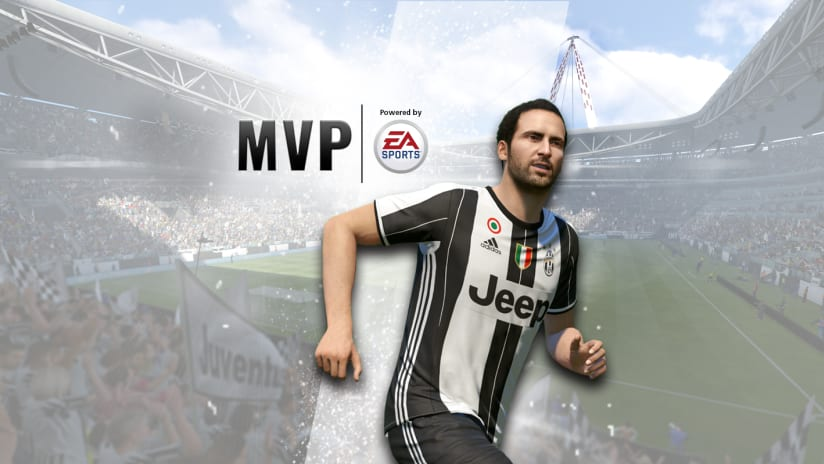"Gonzalo Higuain, December ""MVP of the Month"""