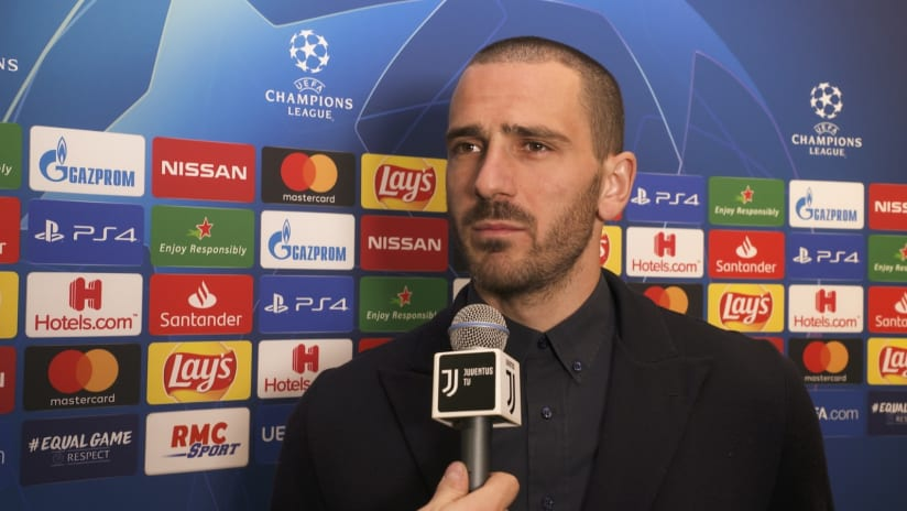 Lyon - Juventus | Bonucci: «Motivated and enthusiastic»