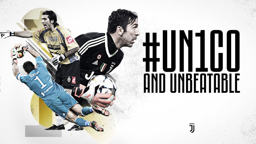 Gianluigi Buffon: #UN1CO e IMBATTIBILE