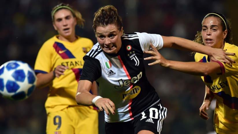 Women | UWCL - Sedicesimi andata | Juventus - Barcellona