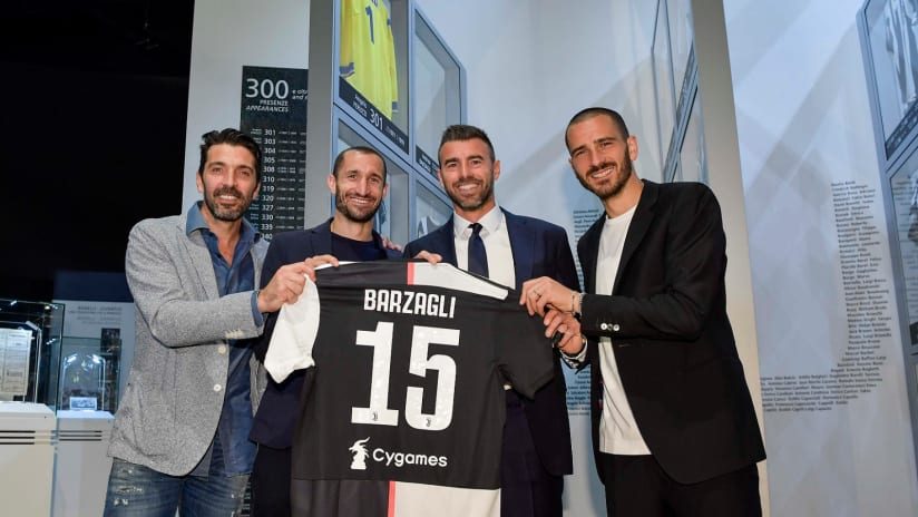 BBBC SURPRISE | Buffon, Bonucci and Chiellini have a big shock for Barzagli!