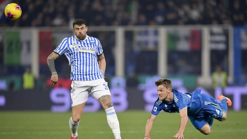 Pitchside view | Matchweek 25 | SPAL - Juventus