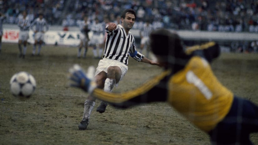 Antonio Cabrini and his fantastic left-foot