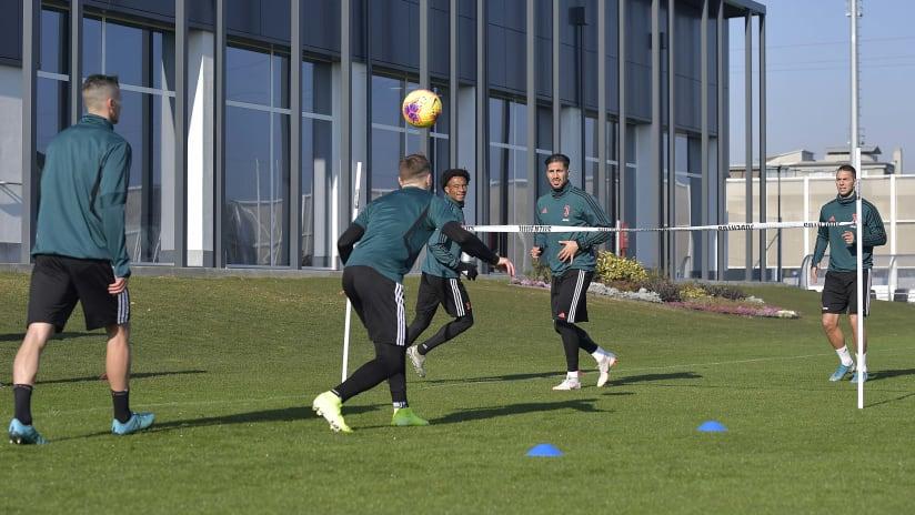 Training | Verso Juventus - Parma