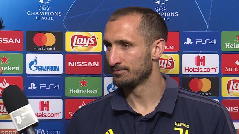 Juventus - Atletico Madrid | Chiellini: «Vogliamo vivere una serata speciale»
