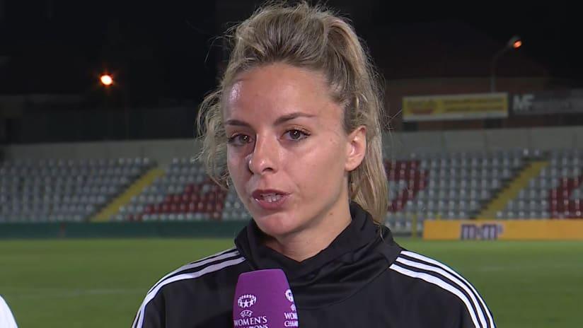 Women | Juventus - Barcellona | Rosucci: «Una serata che conferma la nostra crescita»