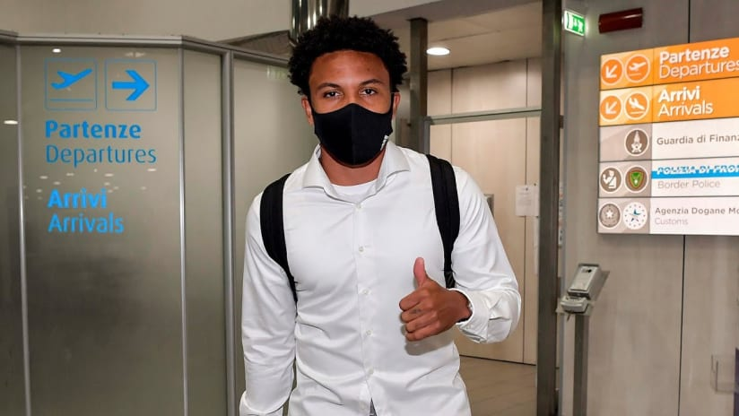 Weston Mckennie touches down in Turin!