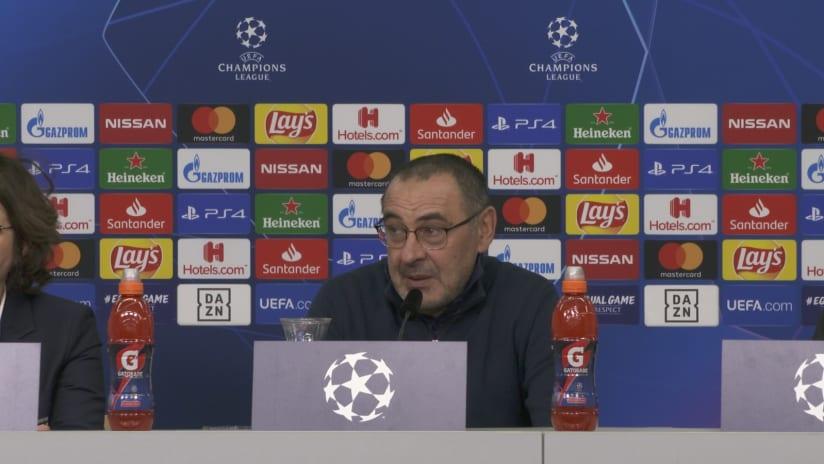 Conferenze stampa   Post Bayer Leverkusen - Juventus