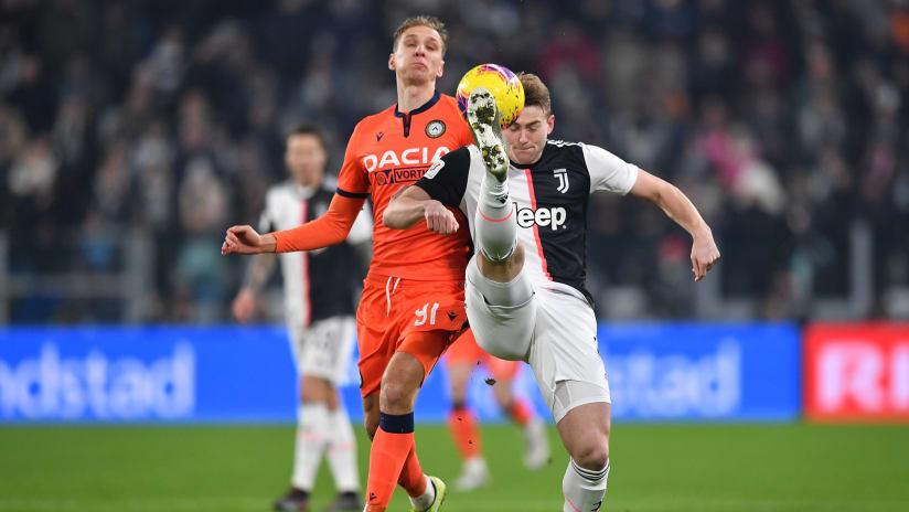 Pitchside view | Coppa Italia - Last 16 | Juventus - Udinese