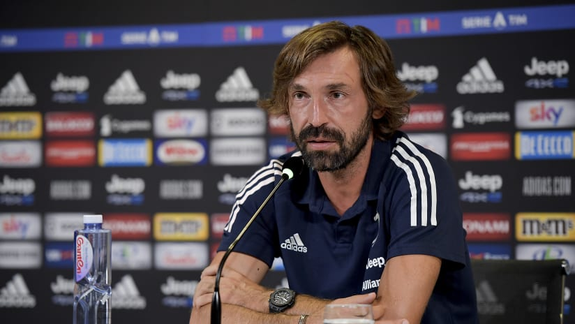 Pirlo's comments on the eve of Juventus - Verona