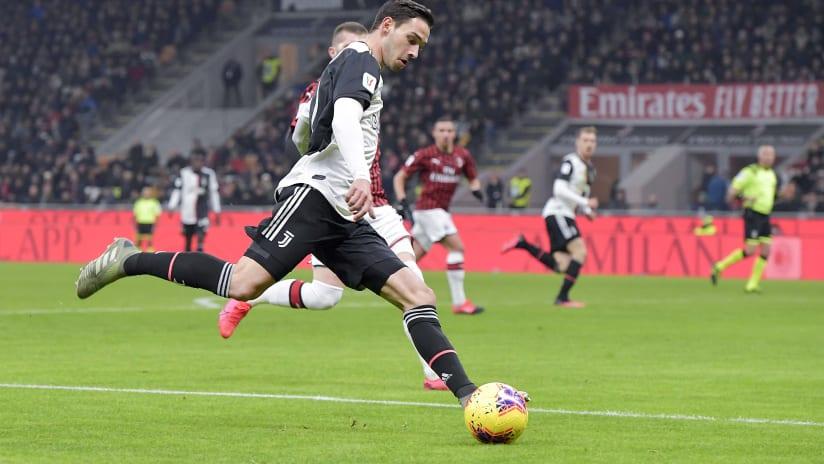 Pitchside view | Coppa Italia - Semi-final 1st leg | Milan - Juventus