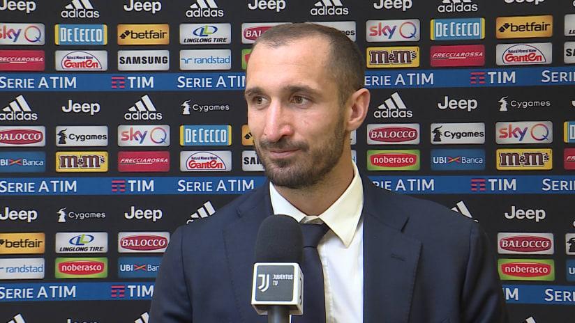 Juventus - Empoli | Chiellini: «Abbiamo capito la partita»