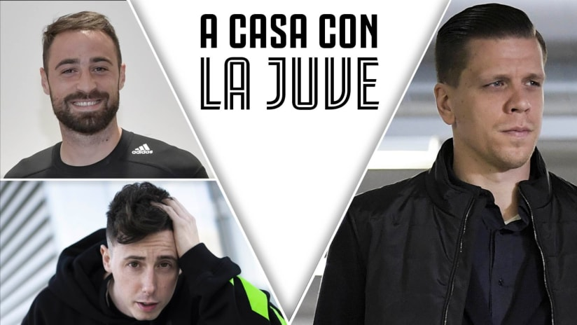 At home with Juve | Szczesny, Pinsoglio and Shade