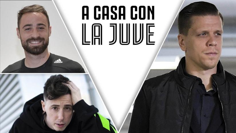 A casa con la Juve | Szczesny, Pinsoglio e Shade