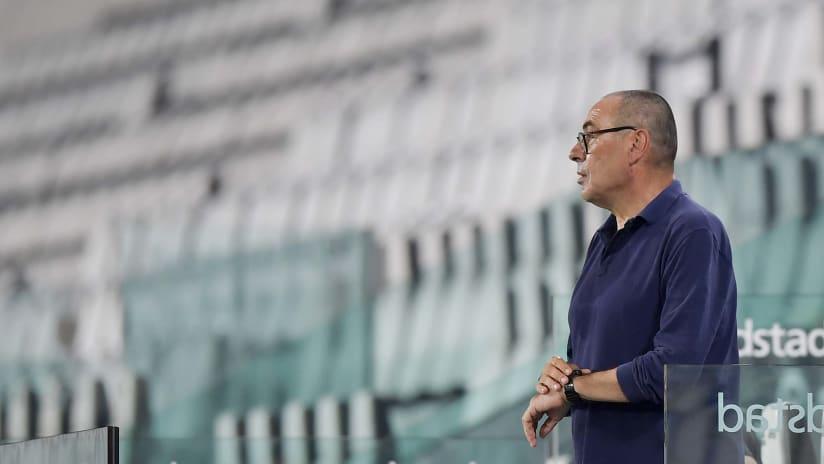 Juventus - Lazio | Mister Sarri's satisfaction