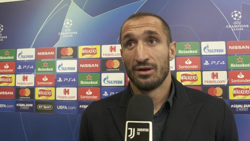 Manchester United - Juventus | Chiellini: «Domani sarà una serata speciale»