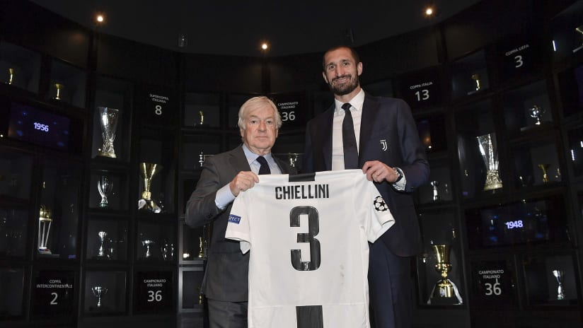 #Chiello500 at Juventus Museum!