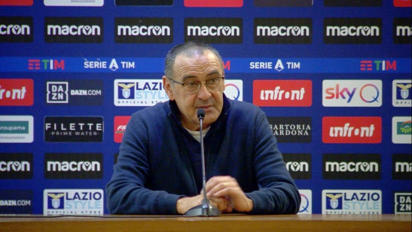 Conferenze stampa   Post Lazio - Juventus