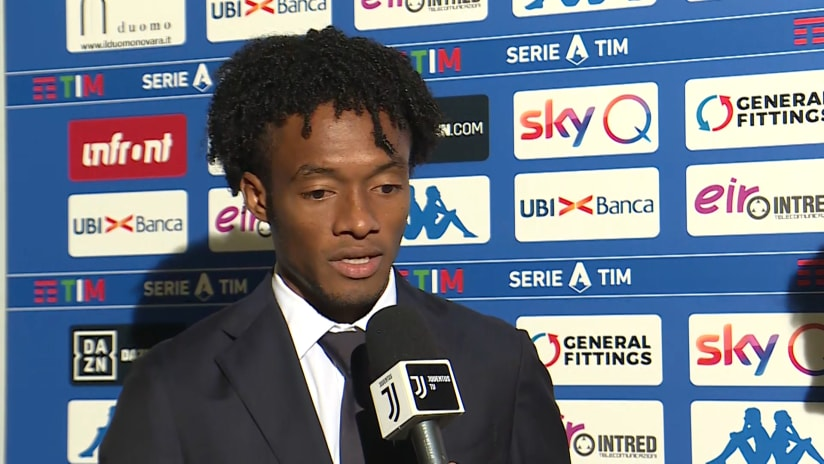 Brescia - Juventus | Cuadrado: «La ripresa ha premiato la nostra voglia di vincere»
