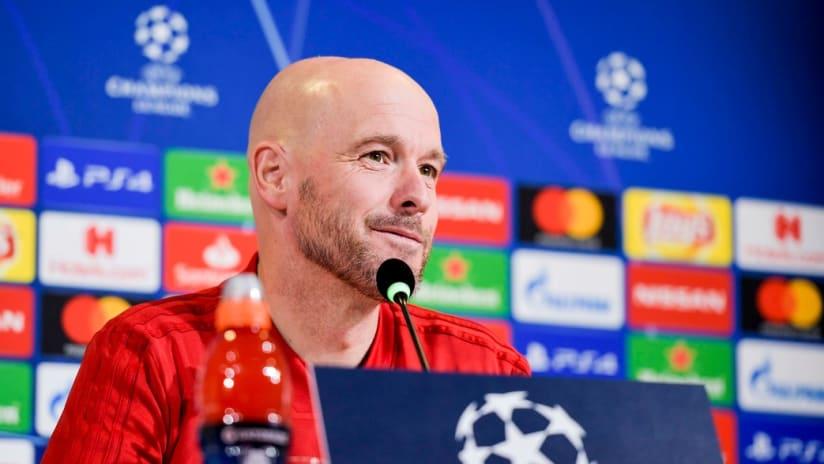 Press conference   Ajax's statements