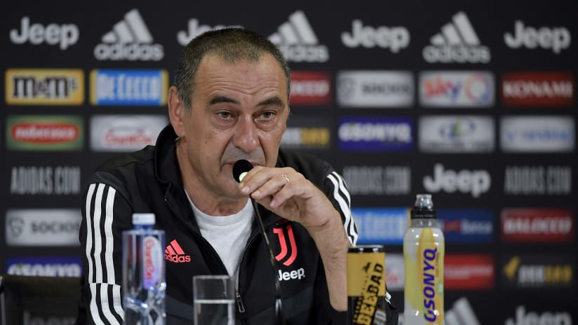 Sarri's comments on the eve of Juventus-Lecce