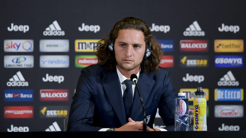 Press conference | Adrien Rabiot