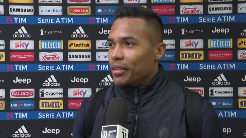 Juventus - Roma | Alex Sandro: «Il nostro segreto? Il lavoro»