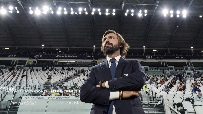 Juventus - Sampdoria | Pirlo: «Un'ottima gara»