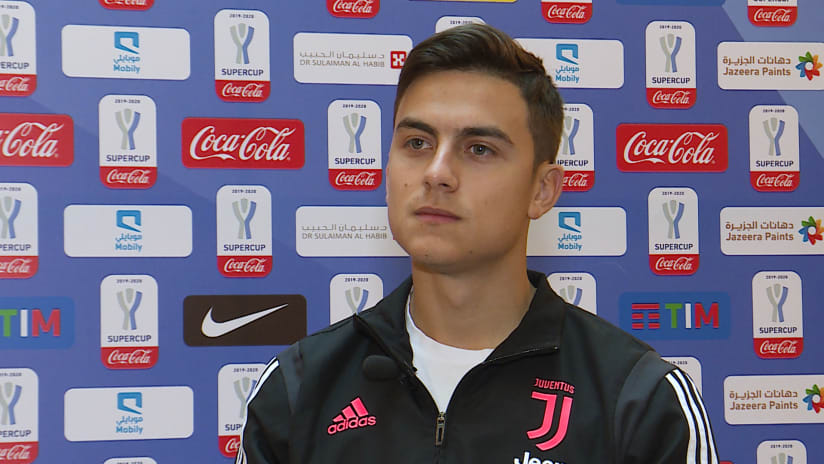 Juventus - Lazio | Dybala: «We come here in a good moment»