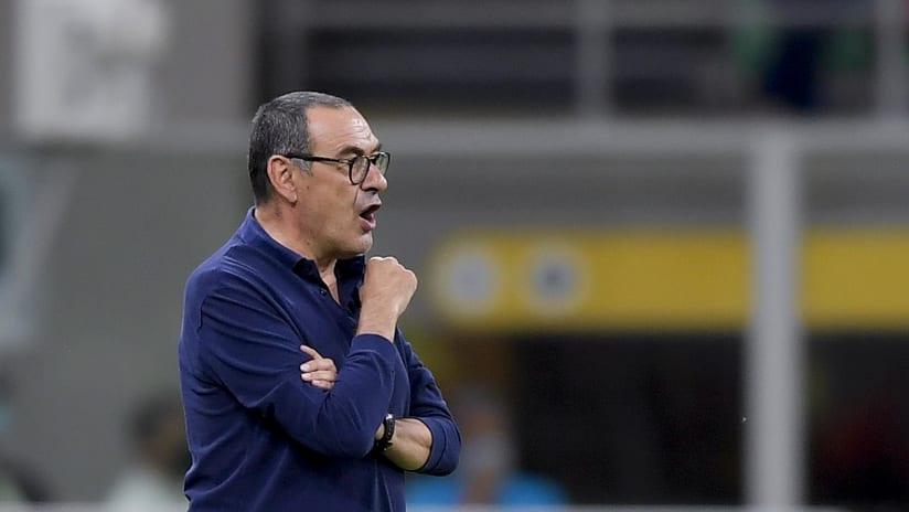 Milan - Juventus | Sarri: «Dobbiamo rimanere sereni»