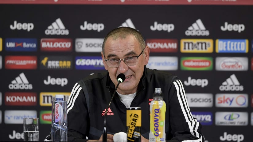 Coppa Italia | Sarri meets the journalists in the Coppa Italia's eve
