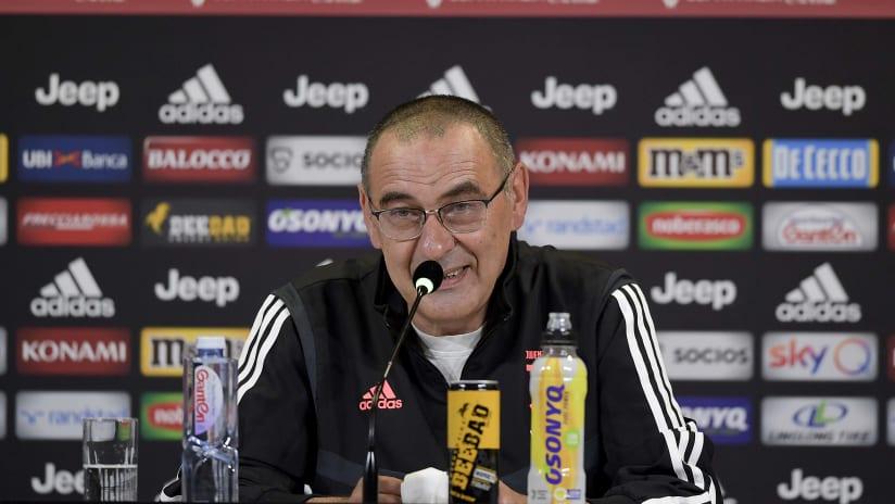 Coppa Italia | Sarri meets the journalists in the Coppa Italia's eve