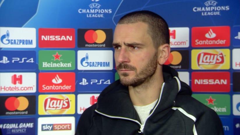 Juventus - Valencia | Bonucci: «Ora andiamo a Berna a cercare il primo posto»