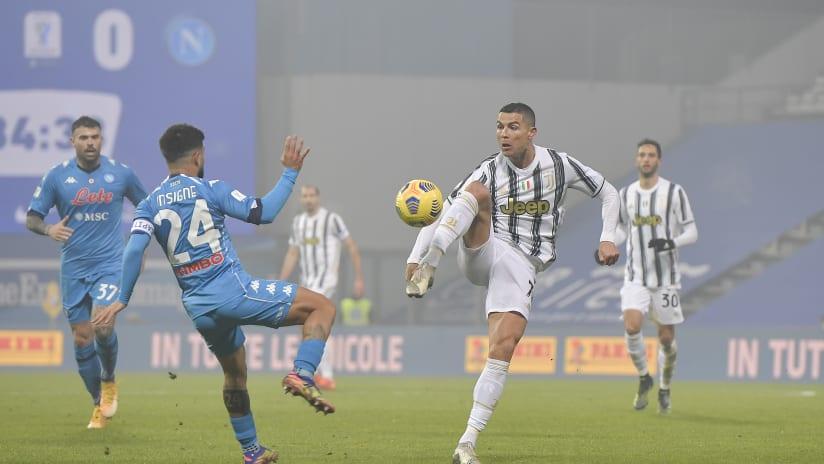 Napoli Juventus Serie A Tim 2020 2021 Juventus Men S First Team
